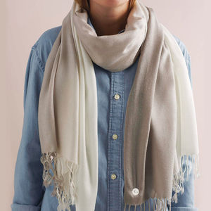 Personalised Ombre Scarf - new in fashion