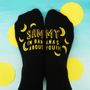 Personalised Bananas About You Socks