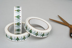 Christmas Tree Sticky Tape - tape & twine