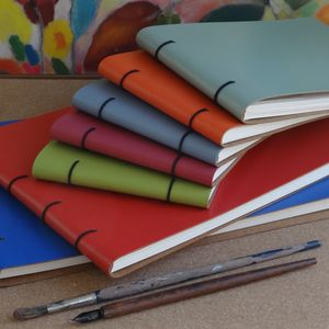 Leather Bound Artist's Sketch Books