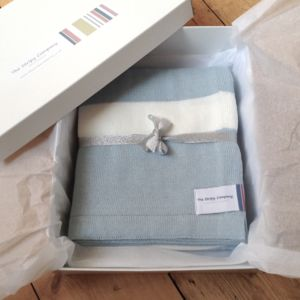 Boxed Large Cotton Toddler Blanket