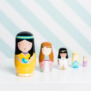 Wooden Nesting Dolls - collector's toys & games