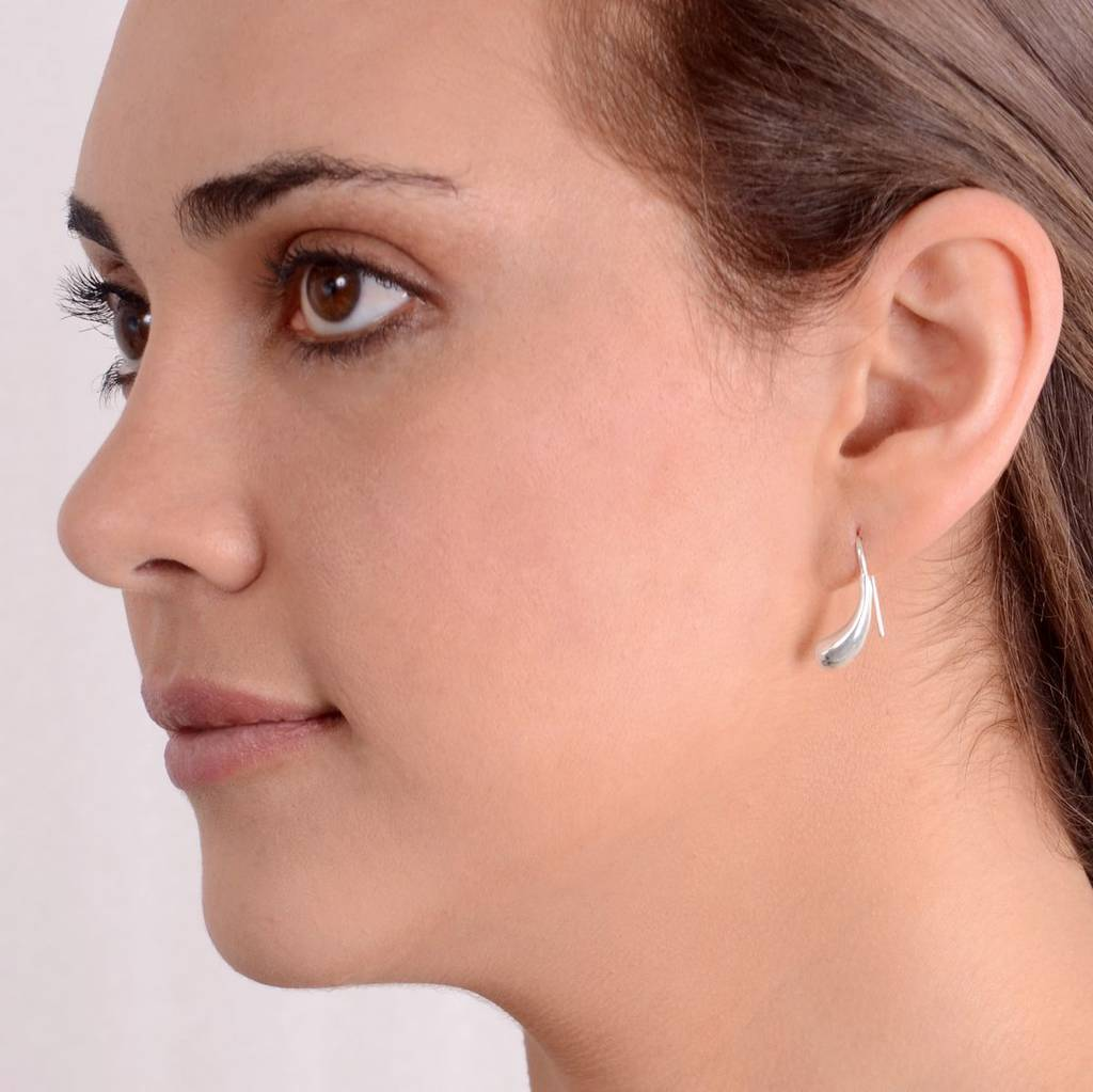 enchanting earrings everyday style bays ij s in bay radiant sw silver