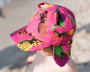 Childrens' Baseball Sun Hat With Neck Flap