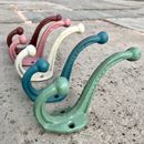 Industrial Style Coloured Iron Hooks