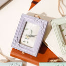 Vintage Style Ornate Miniature Photo Frames