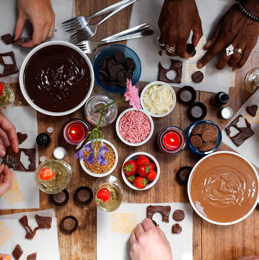 Luxury Chocolate Making Workshop For Two