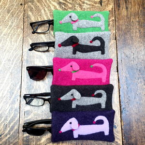 Dachshund Glasses Cases For Dog Lovers - glasses cases