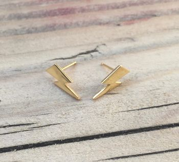 Bowie Flash Stud Earrings