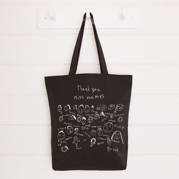 Personalised Class Drawings Teacher Bag