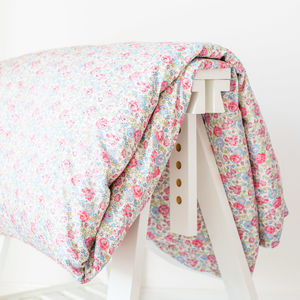 Liberty Print Duvet Cover In Felicite - summer sale