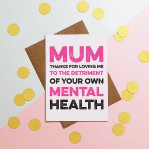 Mental Health Mothers Day Card - what's new