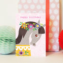 Happy Birthday Animal Selfie Horse Card