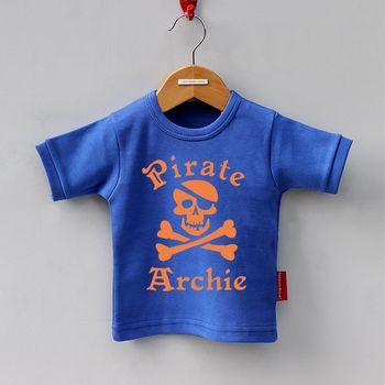 Royal Blue Pirate T-Shirt