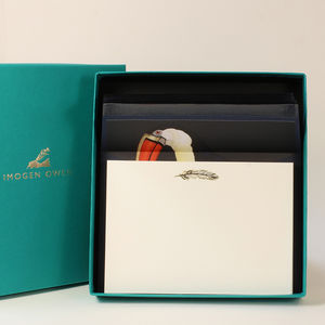 Luxury Toucan Letter Writing Set
