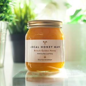 Raw British Golden Honey