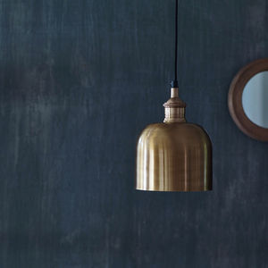Flori Brass Pendant Light - living room