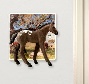 Horse Light Switch - children's lighting