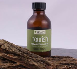Nourish Bath And Body Oil - bathroom