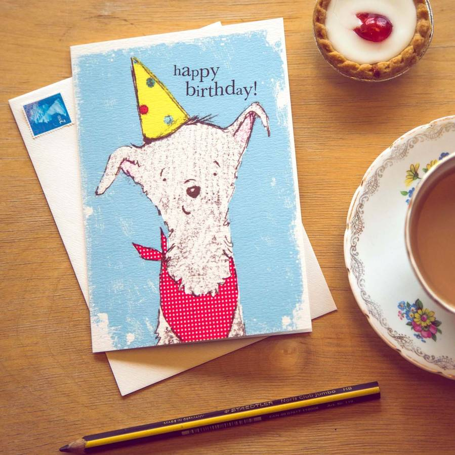 Dog Card 'Happy Birthday'