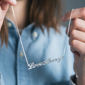 Personalised Handmade Name Necklace - gifts for teenage girls