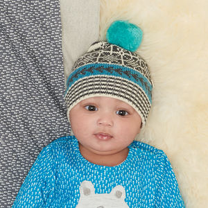 Scoot Chunky Baby And Kids Pom Pom Hat - children's christmas clothing