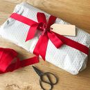 We can gift wrap for you - including blank wooden gift tag for you to write your message