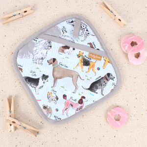 Debonair Dogs Pot Holder - kitchen
