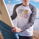 Personalised Your Surfing Holiday Long Sleeved Tee