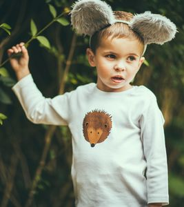 Kids Hedgehog T Shirt