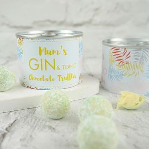 Gin And Tonic Chocolate Truffle Tin - what's new
