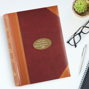 A Classic English Design Memo Photo Album