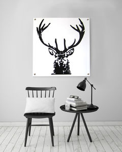 High Heid Yin Acrylic Artwork - animals & wildlife