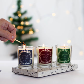 Christmas Candle In Choice Of Scents