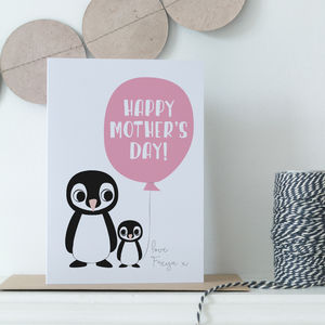 Personalised Children's Mother's Day Card - mother's day cards
