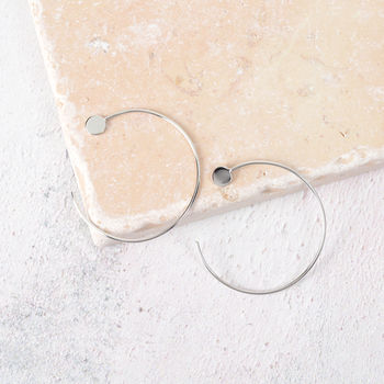 Sterling Sliver Hoops