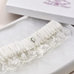 'Savannah' Wedding Garter - lingerie & nightwear