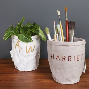 Personalised Round Storage Bag - storage