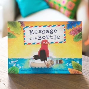 Personalised 'Message In A Bottle' Children's Book