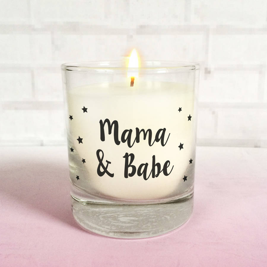 New Mum Feeding Candle