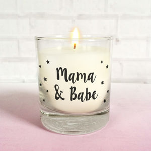 New Mum Feeding Candle - gifts for mothers