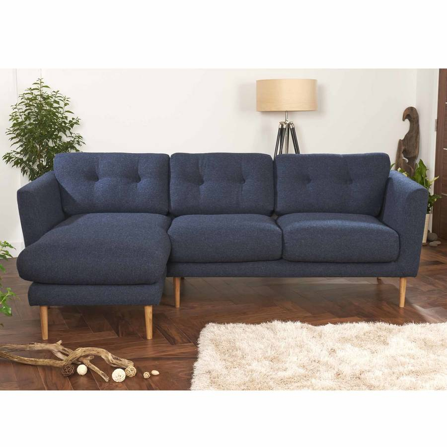 Blue Tweed Sofa Modern Florence Style Loveseat Sofa In Blue Tweed Cashmere Wool Thesofa