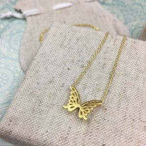 Meadow Butterfly Micro Necklace - necklaces & pendants
