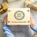 Personalised Merry Little Christmas Eve Box