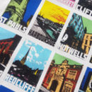 Bristol Districts Tea Towel
