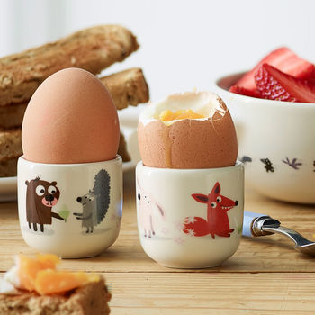 Koswick Wood Egg Cups