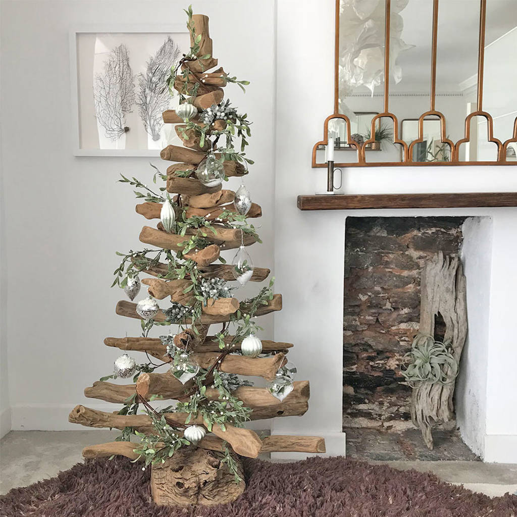 5ft and 6ft driftwood christmas trees by doris brixham