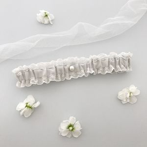 Lace And Silk Wedding Garter - bridal garters