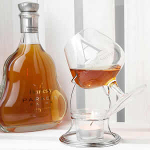 Personalised Brandy Warmer Set - drink & barware