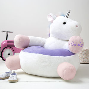 Personalised Children's Unicorn Chair - chairs & stools